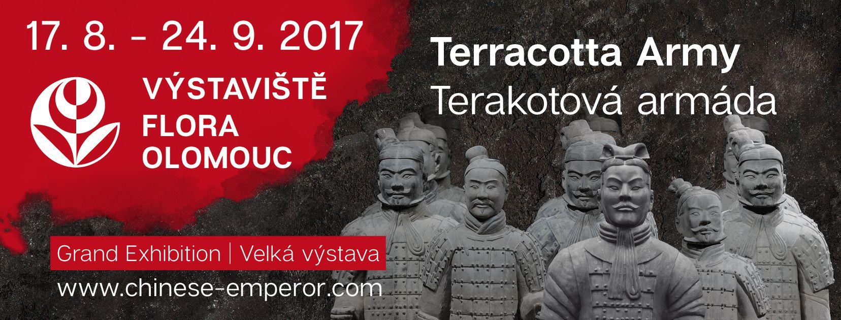 Terakotoví vojáci na Výstavišti FLORA Olomouc